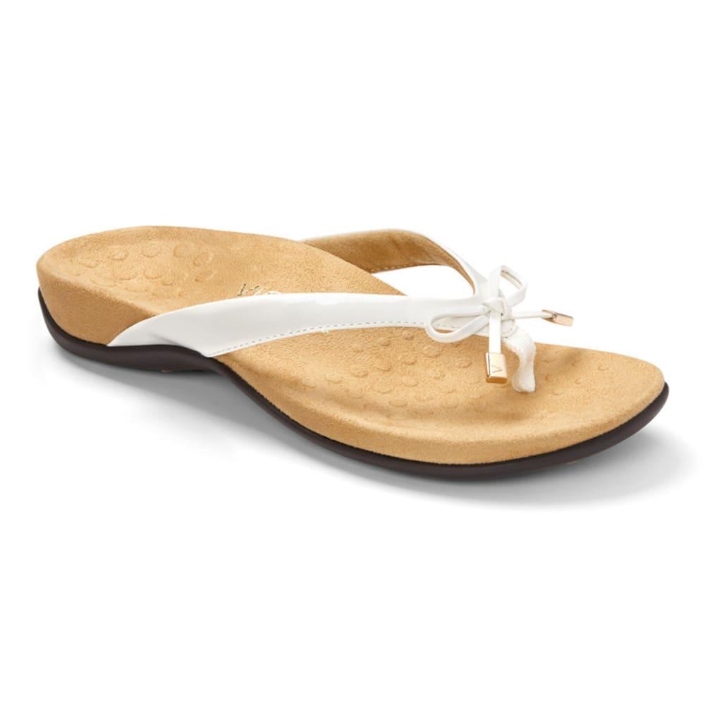 VIONIC Women's Bella Toe Post Sandal - WHITE