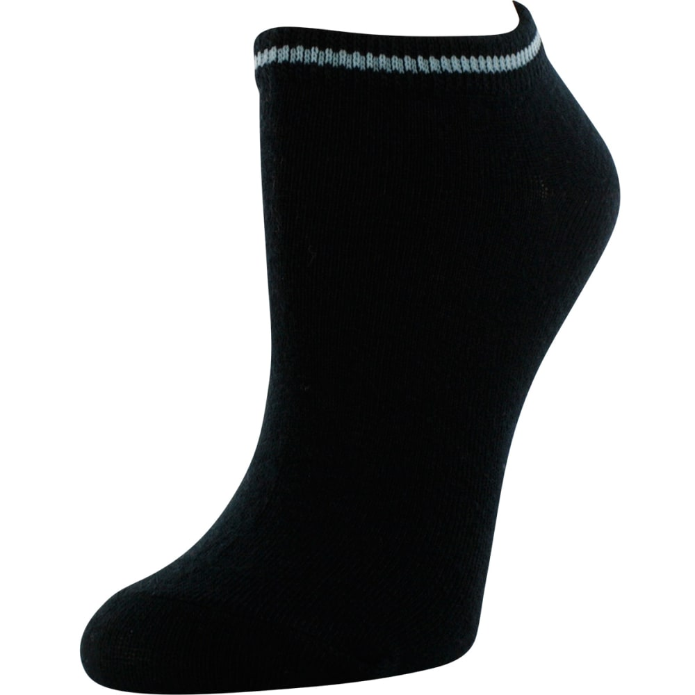 SOF SOLE Women's All-Sport Lite Ice Blue Stripe Socks, 6 Pack - STRIPES