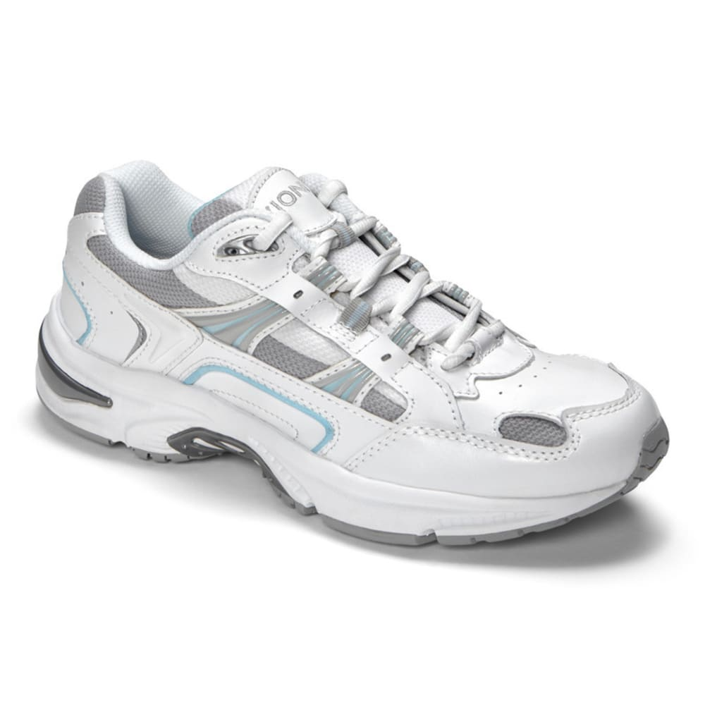 VIONIC Women's Walker Classic Sneakers - WHITE/BLUE