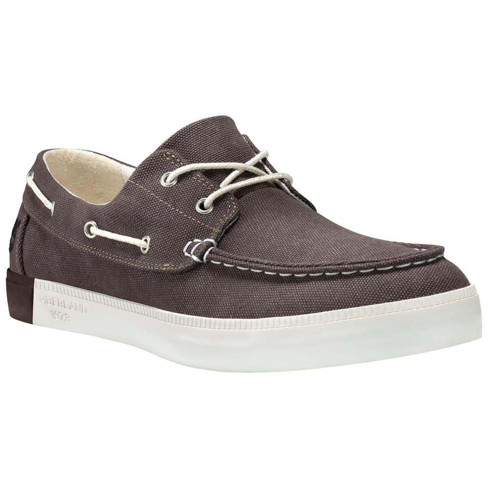 TIMBERLAND Men's Newport Bay 2-Eye Boat Shoes, Olive - OLIVE