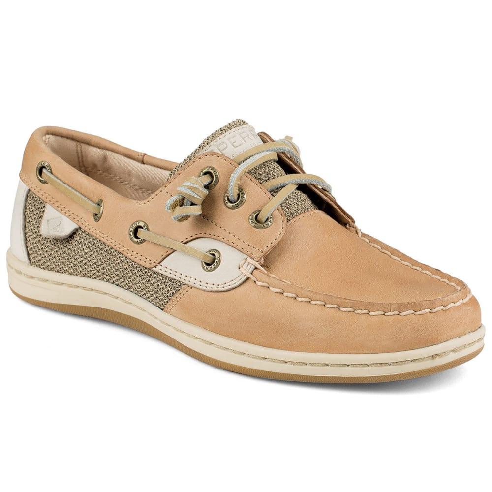 SPERRY Women's Songfish Boat Shoes - LINEN/OAT