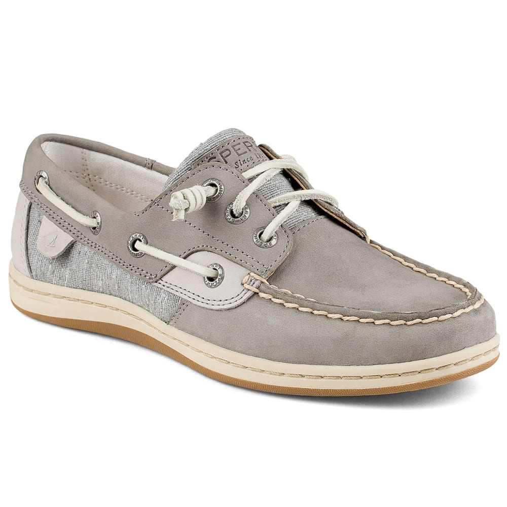 SPERRY Women's Songfish Boat Shoes - GREY