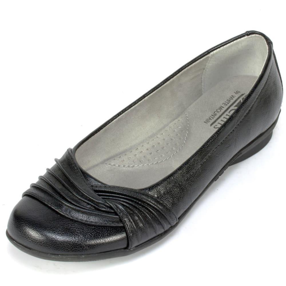 CLIFFS Women's Hilt Flats - BLACK