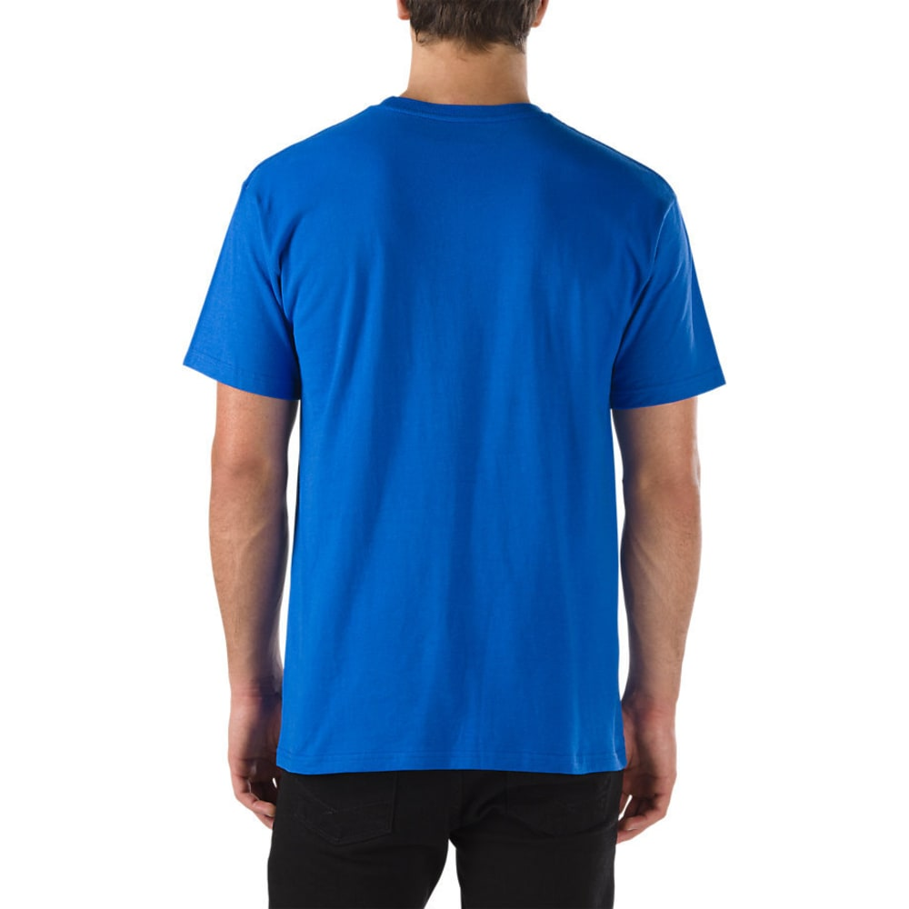 VANS Guys' Classic Screen Tee - ROYAL BLUE