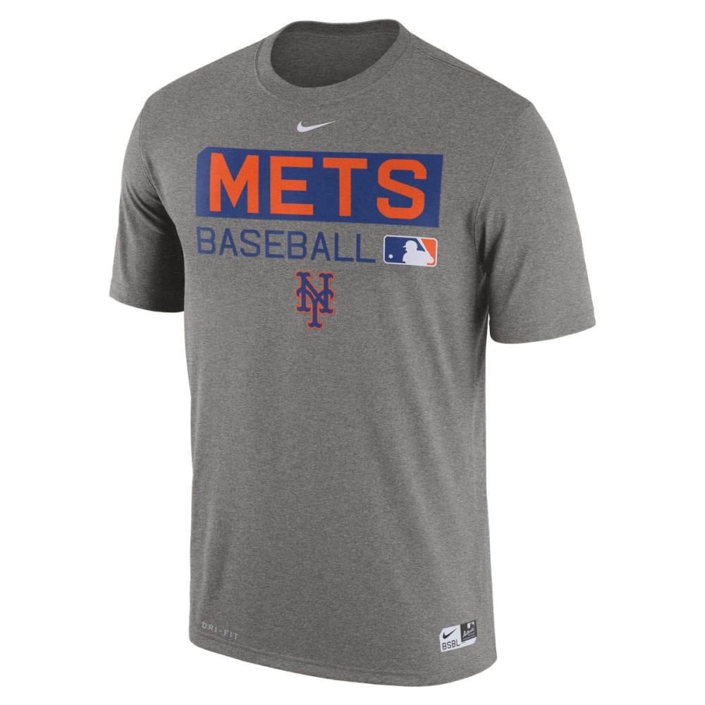 NIKE Men's New York Mets Legend Short-Sleeve Tee - GREY