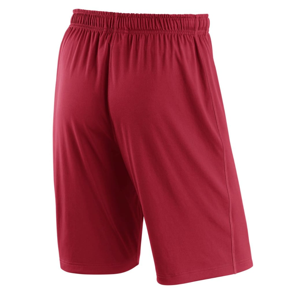 NIKE Men's 10 in. Boston Red Sox Dry Fly Shorts - RED