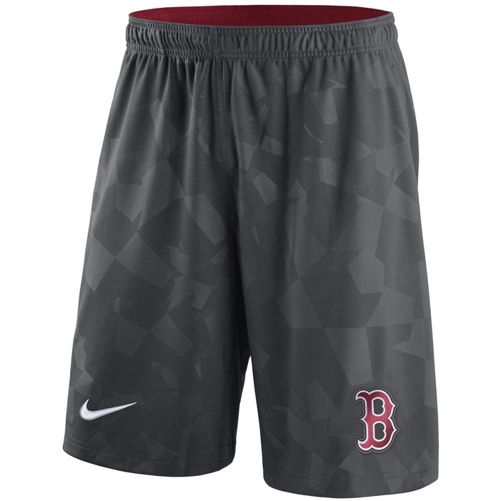 NIKE Men's Boston Red Sox GM Knit Shorts S