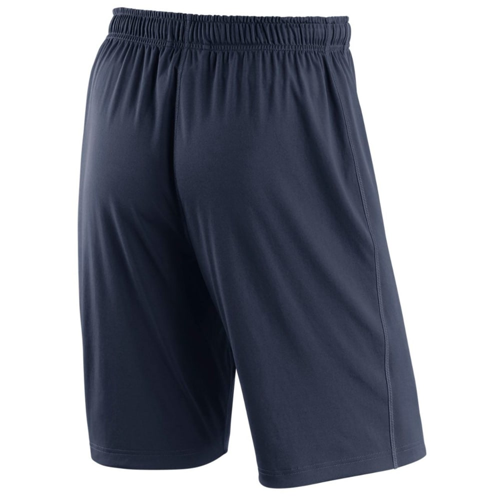 NIKE Men's 10 in. New York Yankees Dry Fly Shorts - NAVY