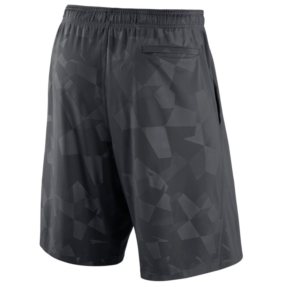 NIKE Men's New York Yankees GM Knit Shorts - ANTHRACITE