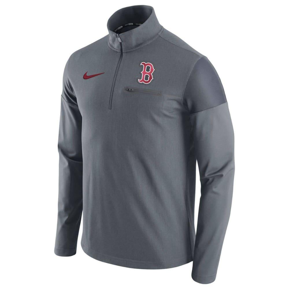 NIKE Men's Boston Red Sox Dry Elite Half Zip Pullover M