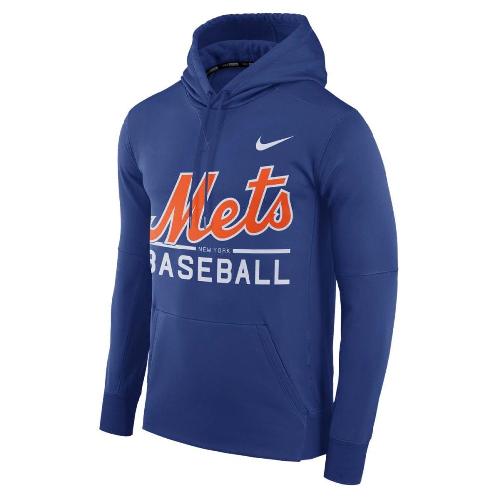 NIKE Men's New York Mets Therma Pullover Hoodie M