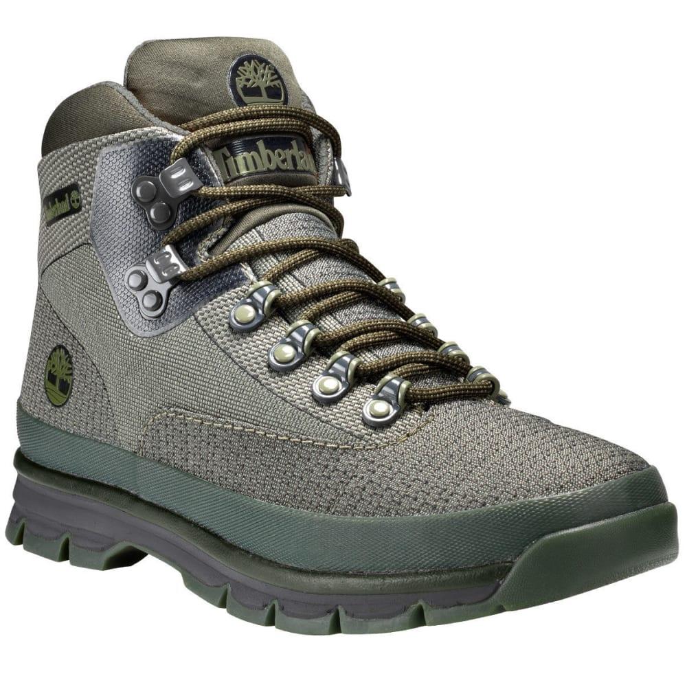 TIMBERLAND Men's Jacquard Euro Hiker Boots, Dark Green - DARK GREEN