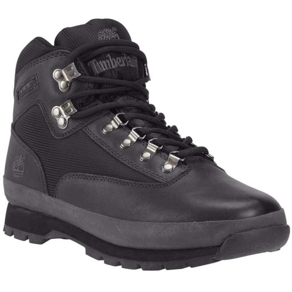 TIMBERLAND Men's Euro Hiker Boots, Black - BLACK