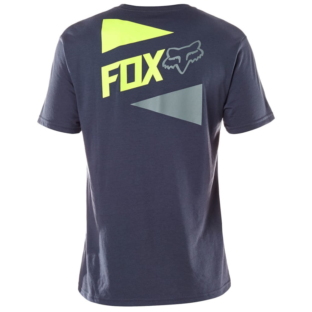 FOX Guys' Racing Lit Up Tech Tee - PEWTER