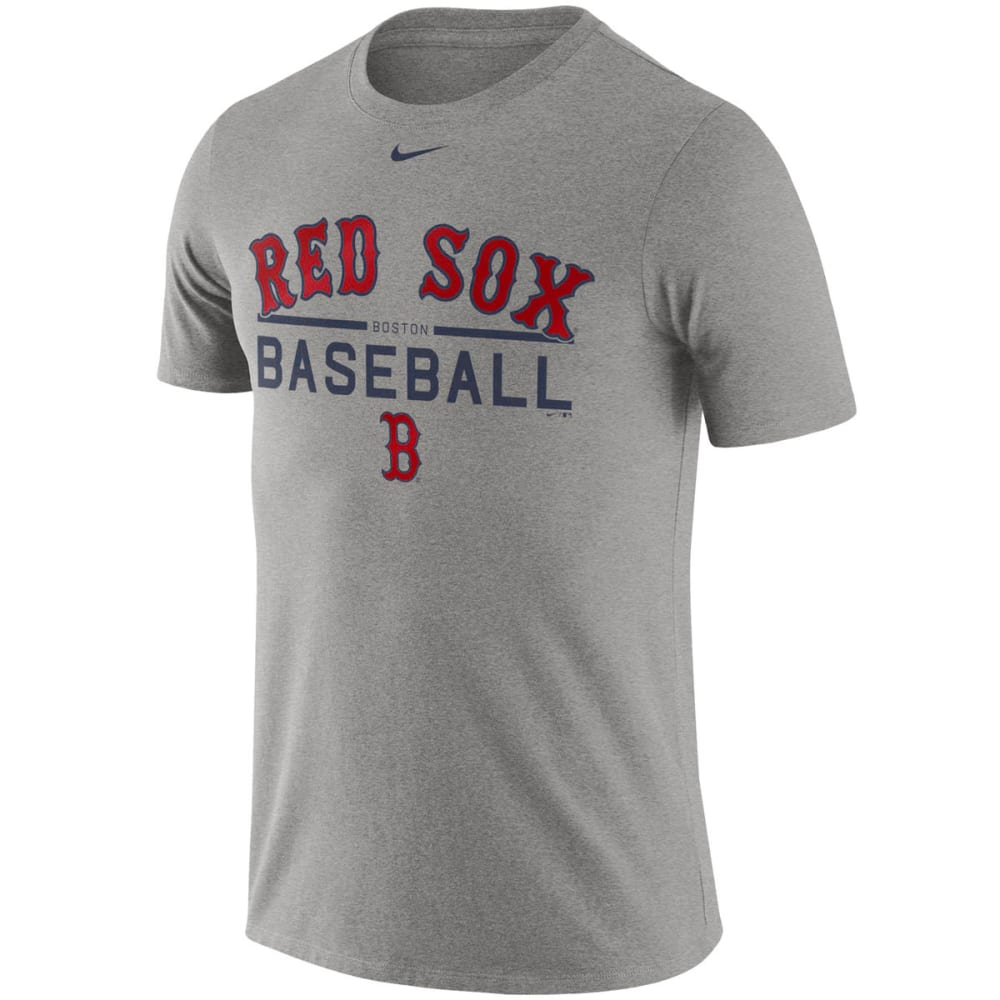 NIKE Men's Boston Red Sox Practice Short-Sleeve Tee M