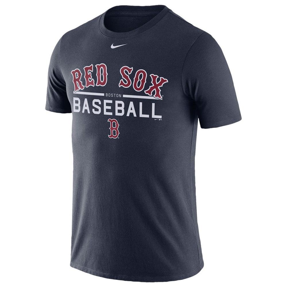 NIKE Men's New York Mets Practice Long-Sleeve Tee - NAVY