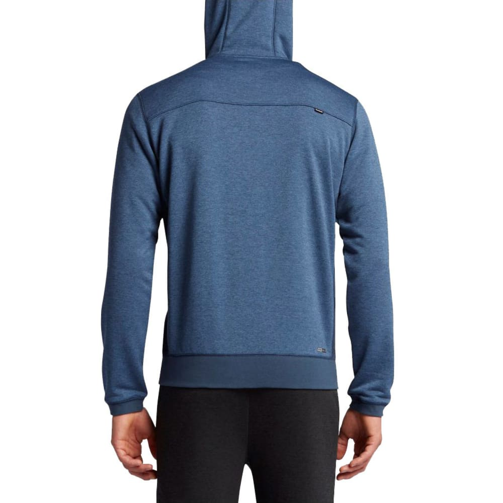 HURLEY Guys' Dri-Fit Disperse Full-Zip Fleece Hoodie - SQUADRON BLUE