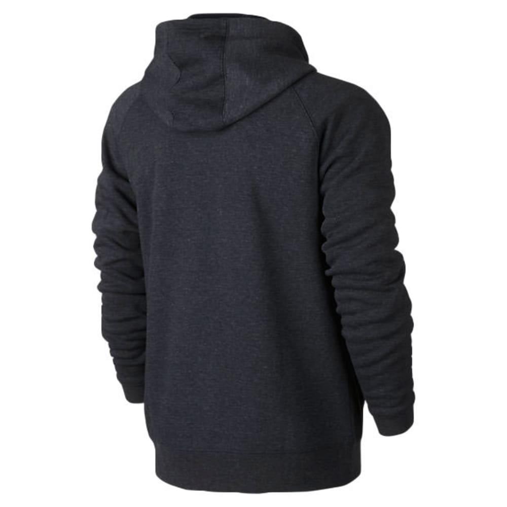 HURLEY Guys' Mammoth Zip Fleece Hoodie - BLACK HEATHER