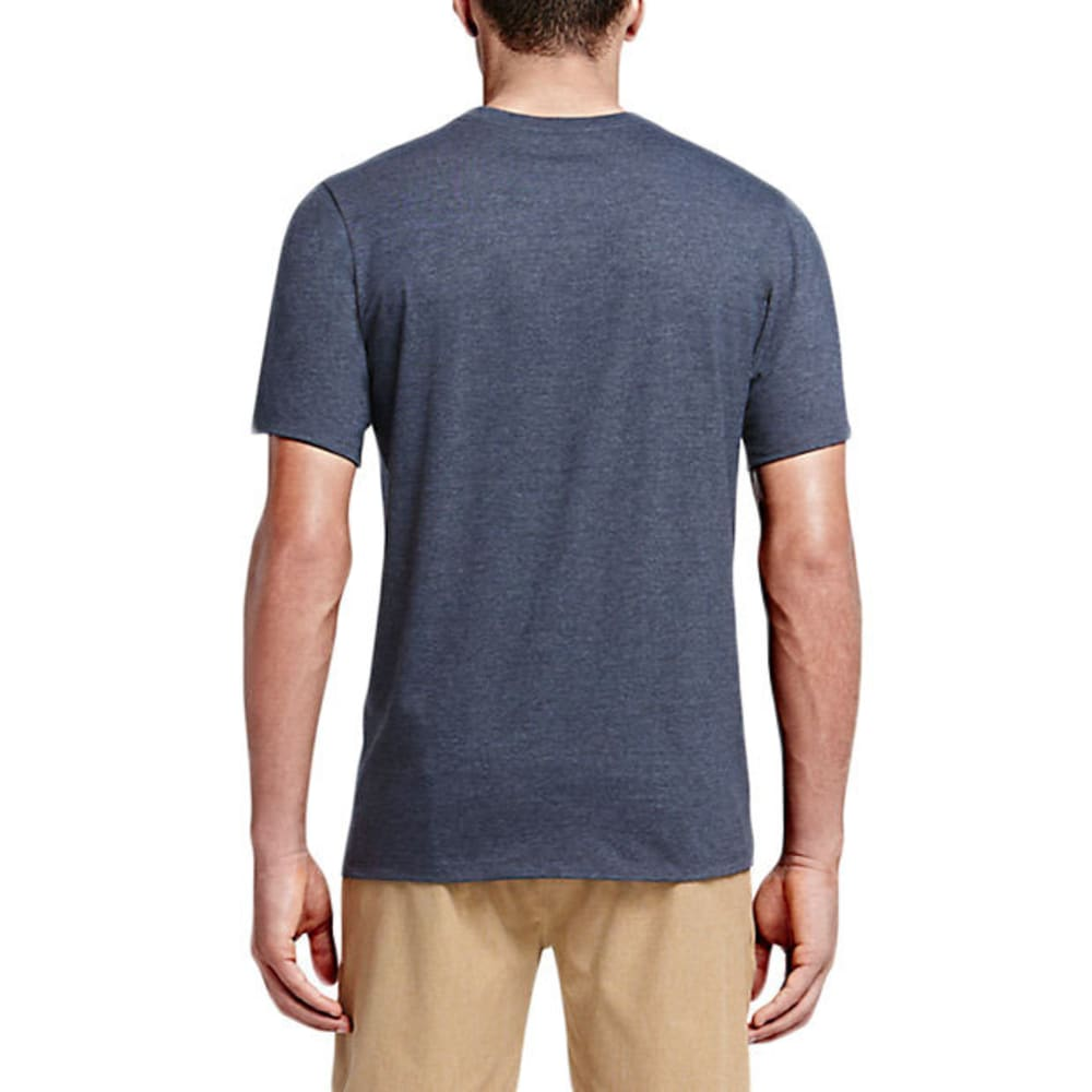 HURLEY Guys' Garden Tee - HEATHER OBSIDIAN