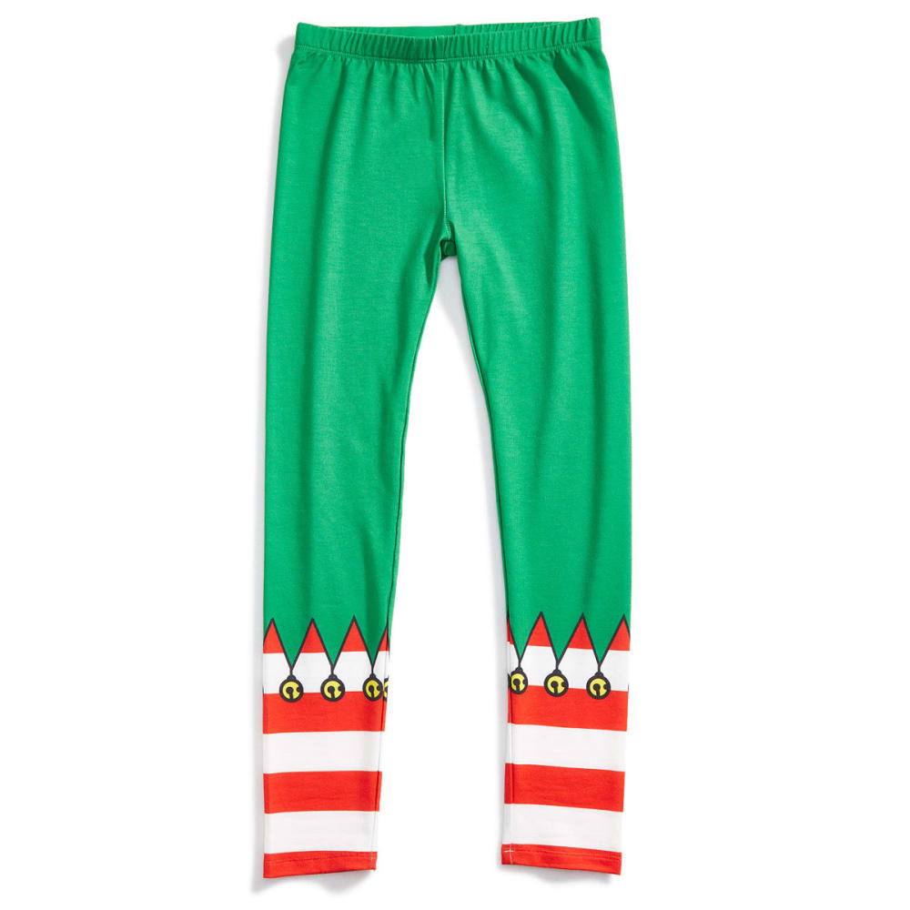 HYBRID Juniors' Christmas Leggings - P388-ELF COSTUME