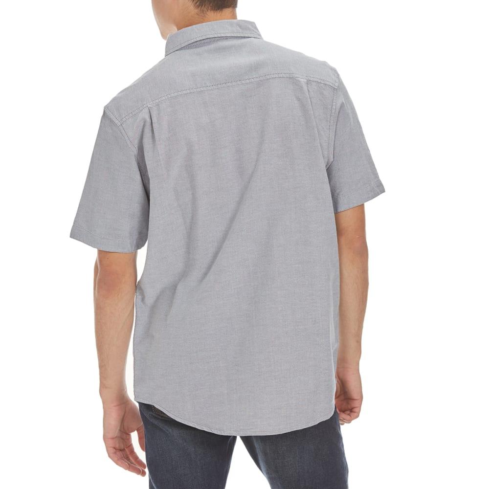 RETROFIT Guys' Printed Pocket Oxford Shirt - NEW WORLD GREY