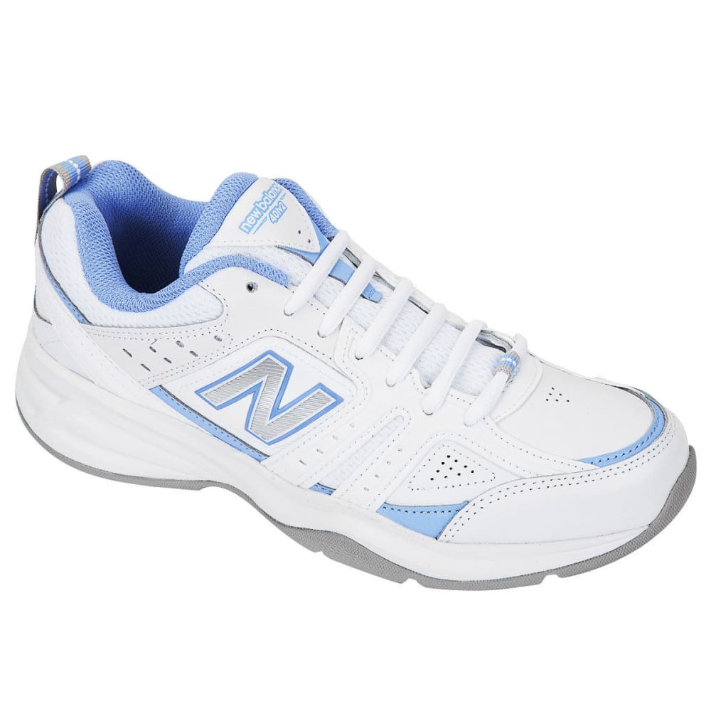 NEW BALANCE Women's 401v2 Training Shoes - WHITE/BLUE