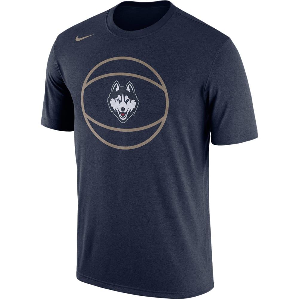 UCONN Men's Nike Legend Basketball Short Sleeve Tee - NAVY