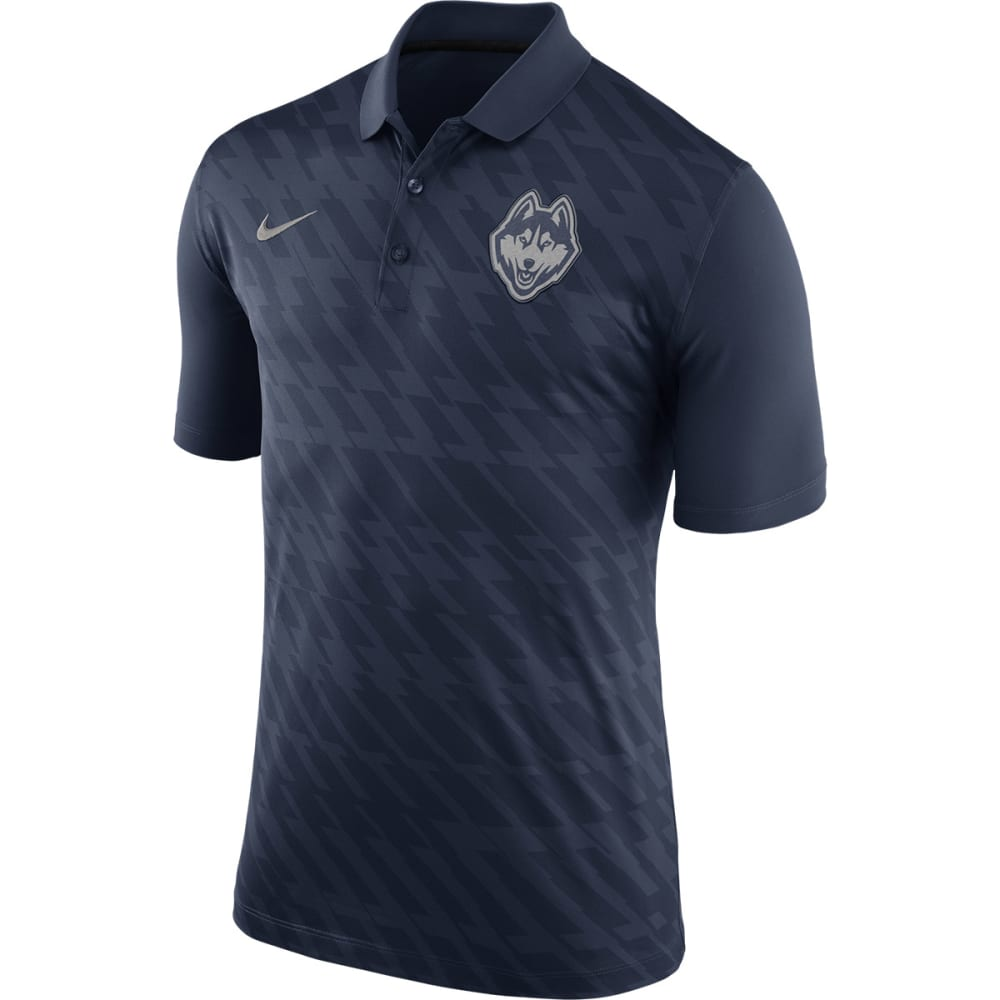 UCONN Men's Nike Dri-Fit Polo Shirt - NAVY