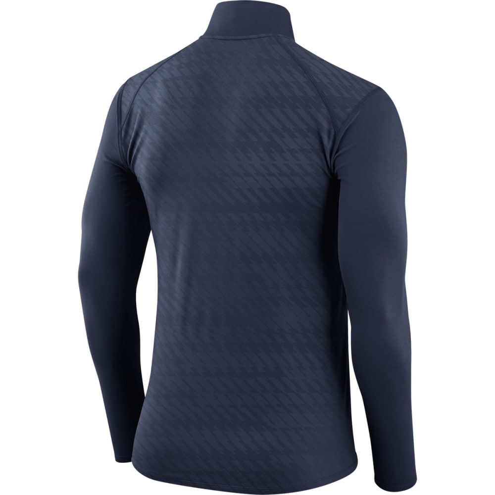 NIKE Men's UConn Dry Element ¼-Zip Jacket - NAVY