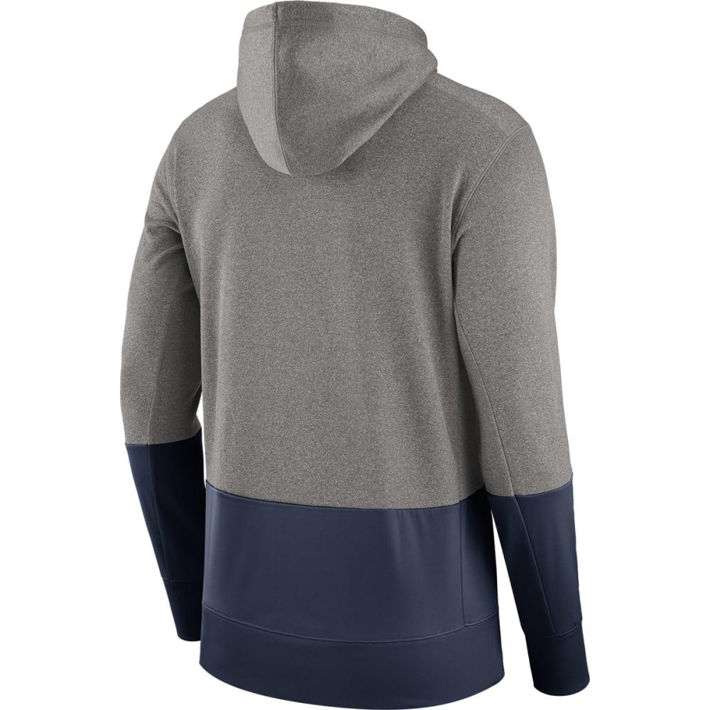 NIKE Men's UConn Therma Pullover Hoodie - GREY