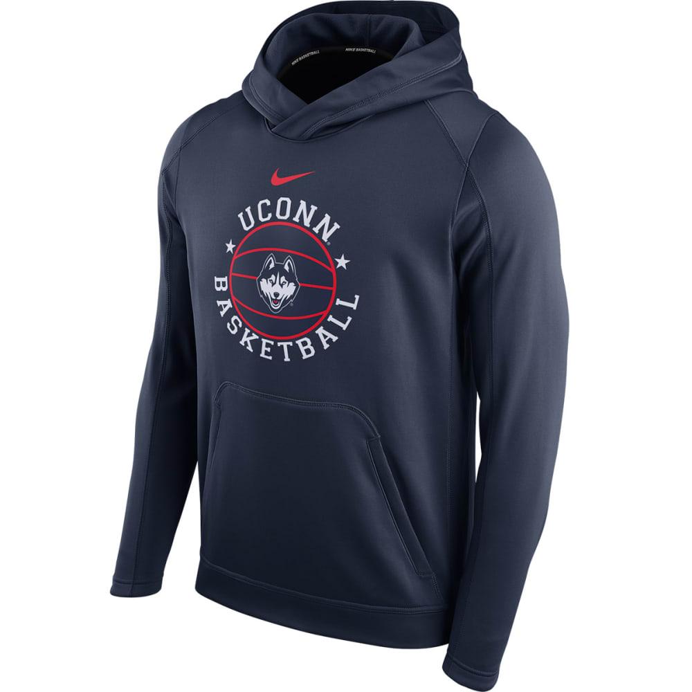 NIKE Men's UConn Circuit Pullover Hoodie - NAVY