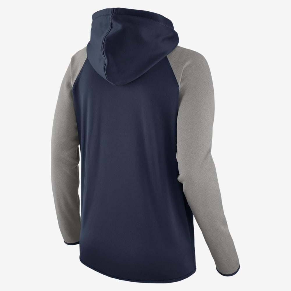 BOSTON RED SOX Women's Nike Therma-Fit Pullover Hoodie - NAVY/GREY