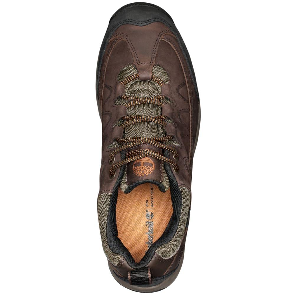 TIMBERLAND Men's Bridgeton WP Low Hiking Shoes - DARK BROWN