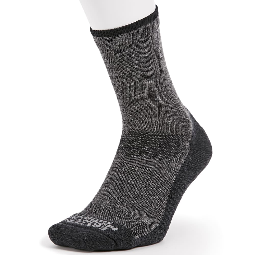 EMS® Men's Track Lite ¾ Crew Socks - EBONY 07078