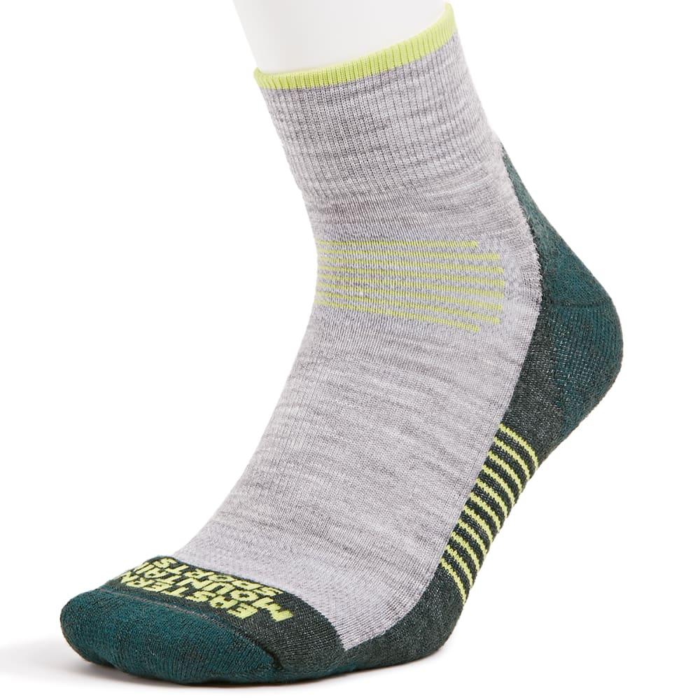 EMS Men's Track Lite Quarter Socks M
