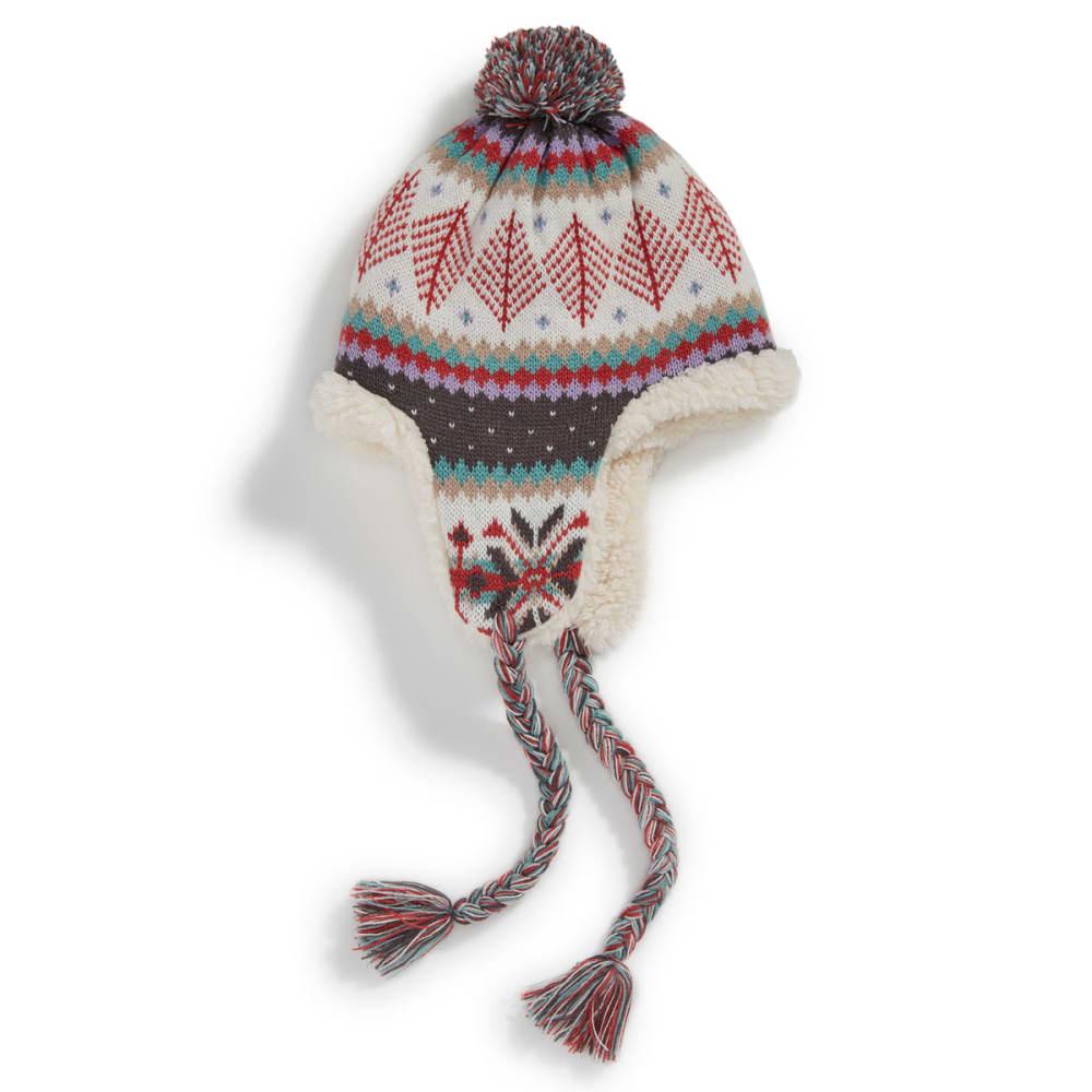 MUK LUKS Women's Vintage Lodge Earflap Trapper Hat - VINTAGE LODGE