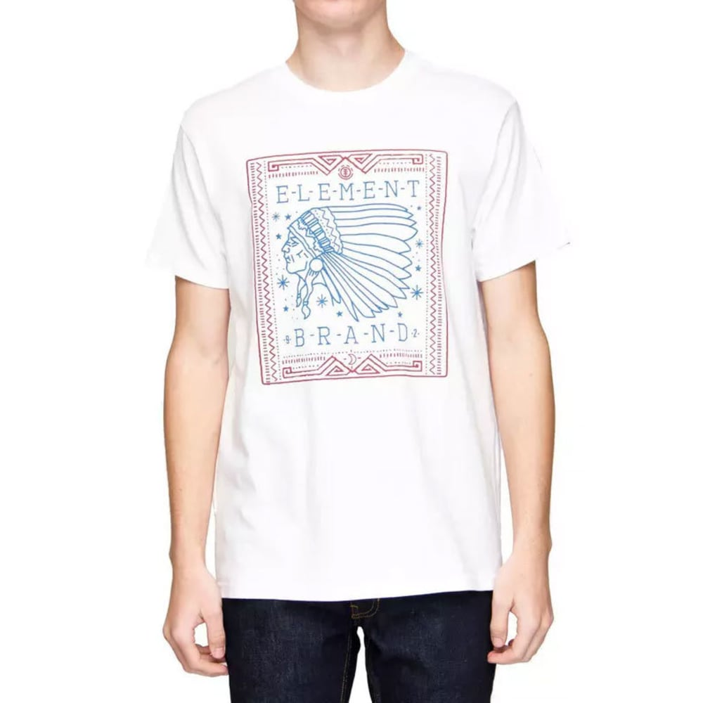 Element Guys Chief Tee - White, S