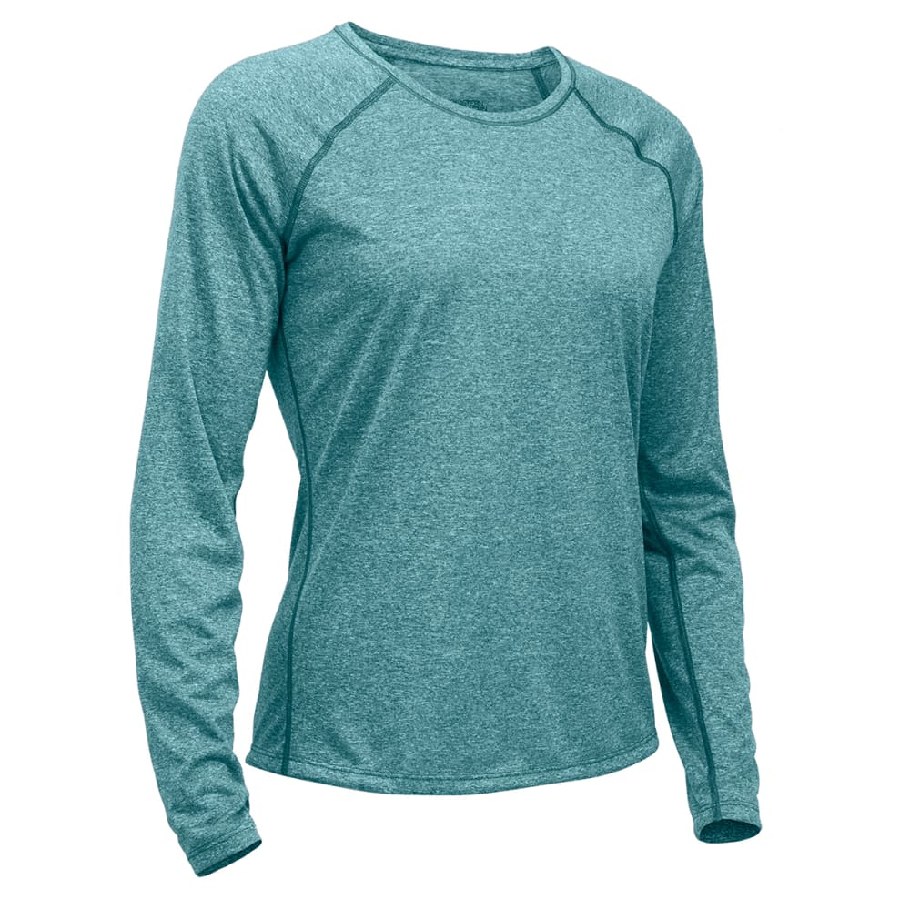 Ems(R) Women's Techwick(R) Essence Long-Sleeve Shirt - Green, L