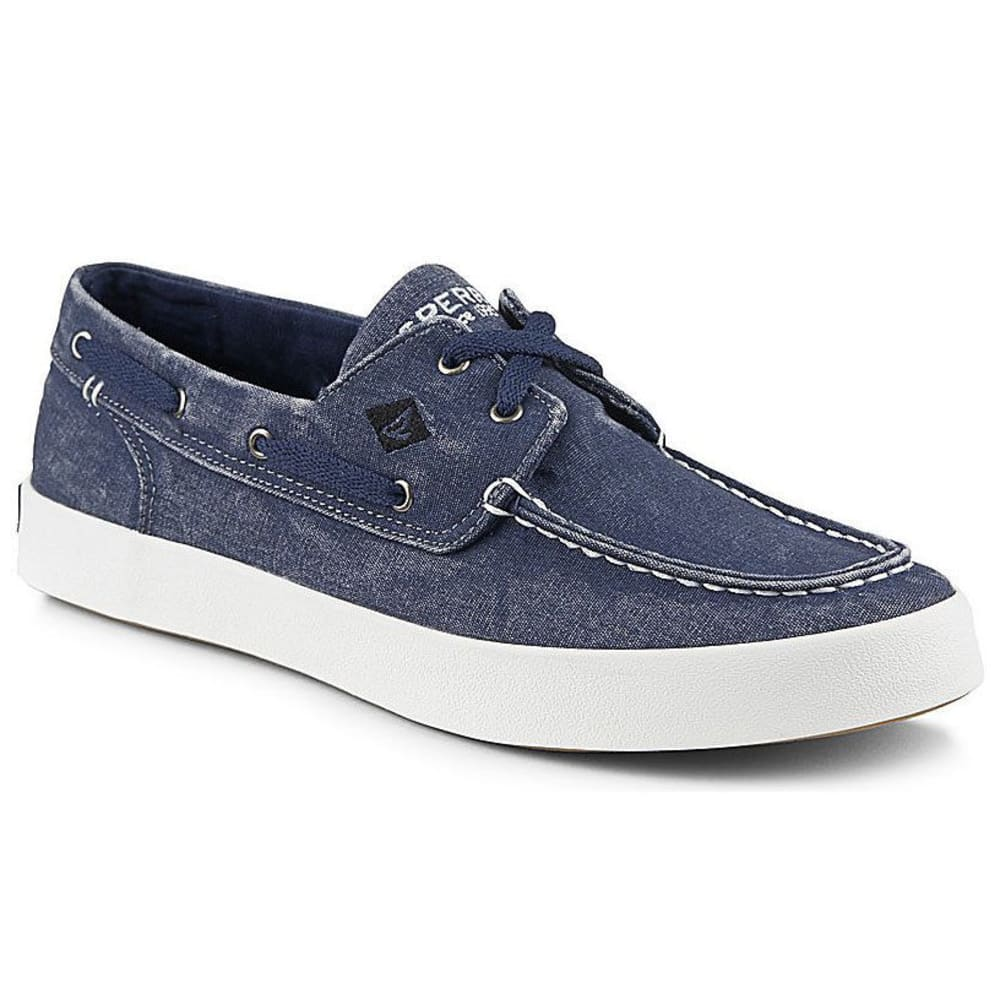 SPERRY Men's Wahoo 2-Eye Canvas Sneaker - NAVY