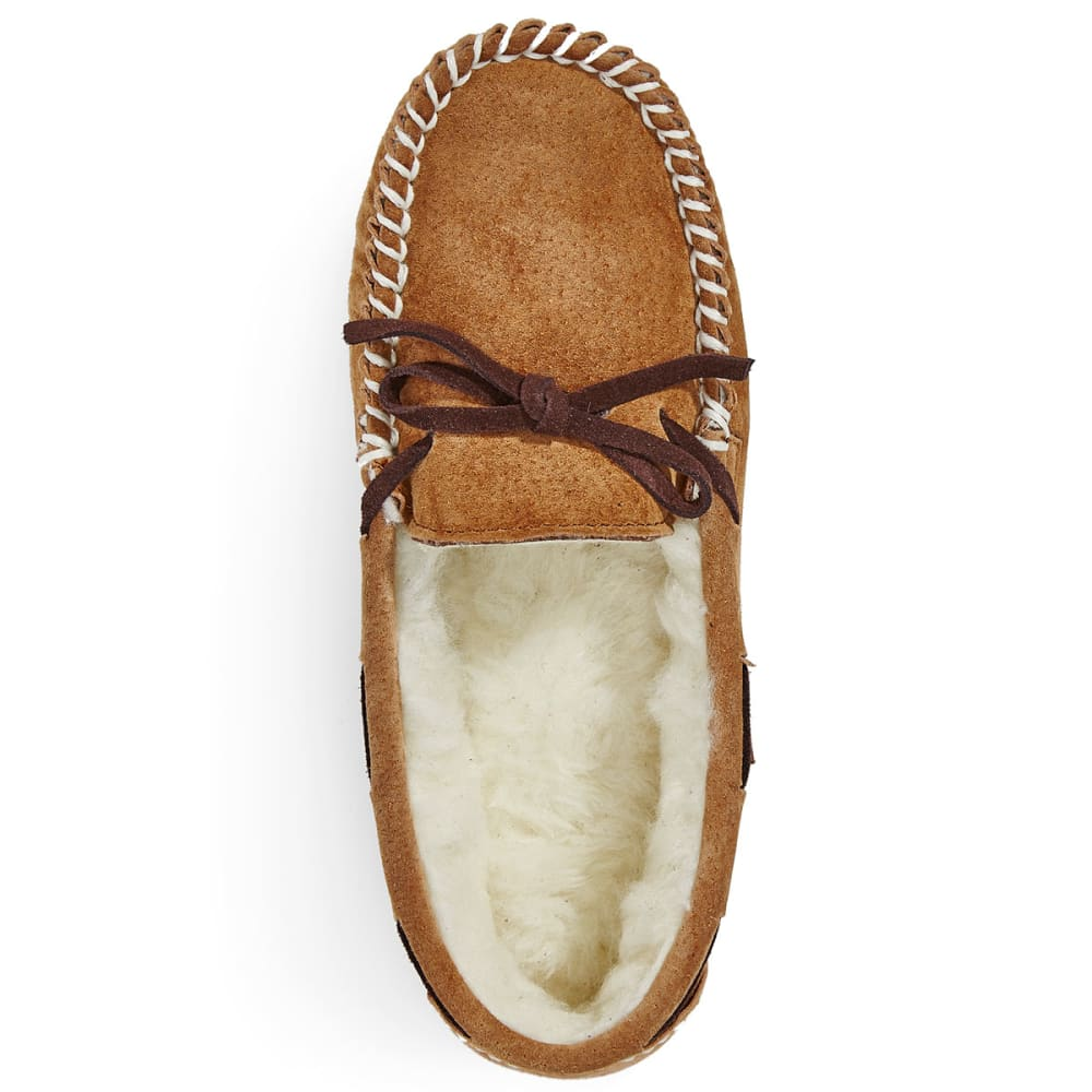 LAMO Girls' Britain Moccasins - CHESTNUT