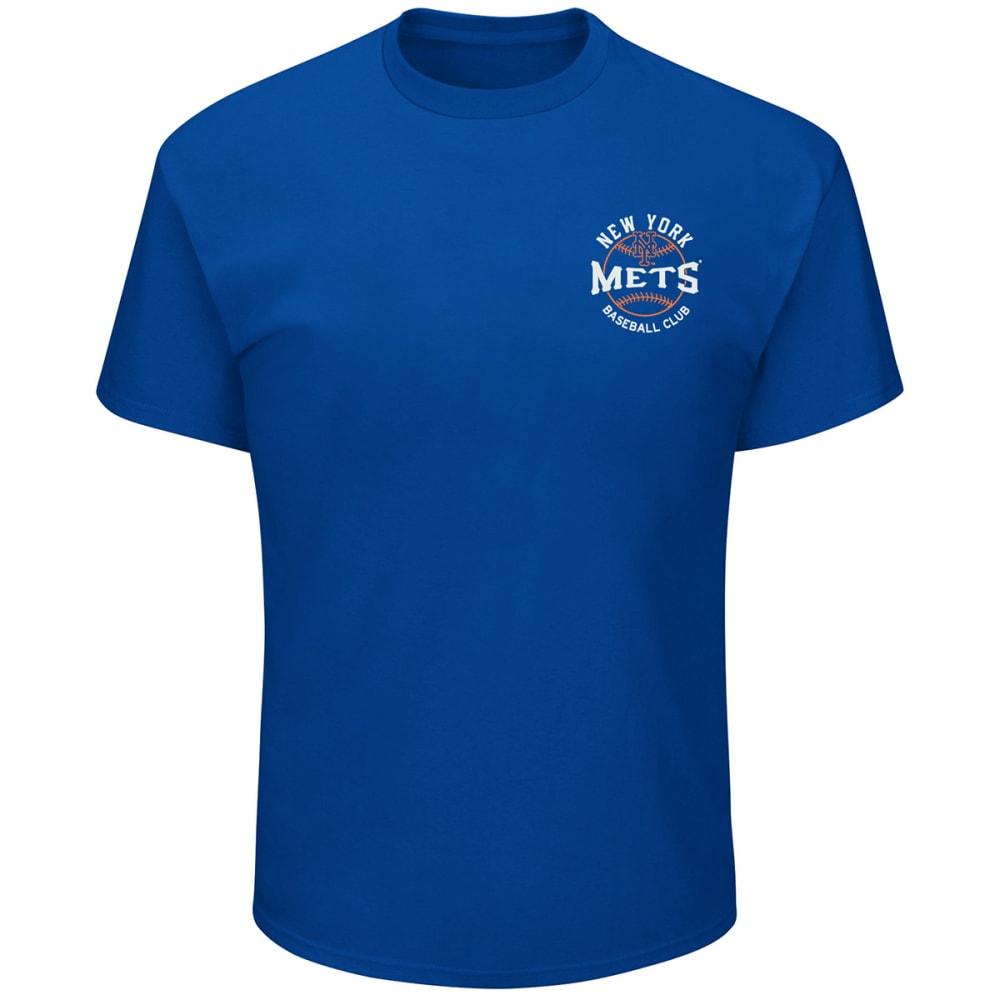 NEW YORK METS Men's Raise the Pennant Short-Sleeve Tee - ROYAL BLUE