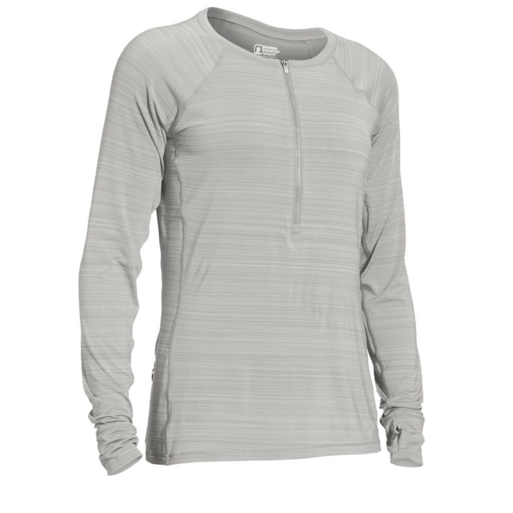 EMS® Women's Techwick® Hydro UPF ½ Zip - FLINT GRAY