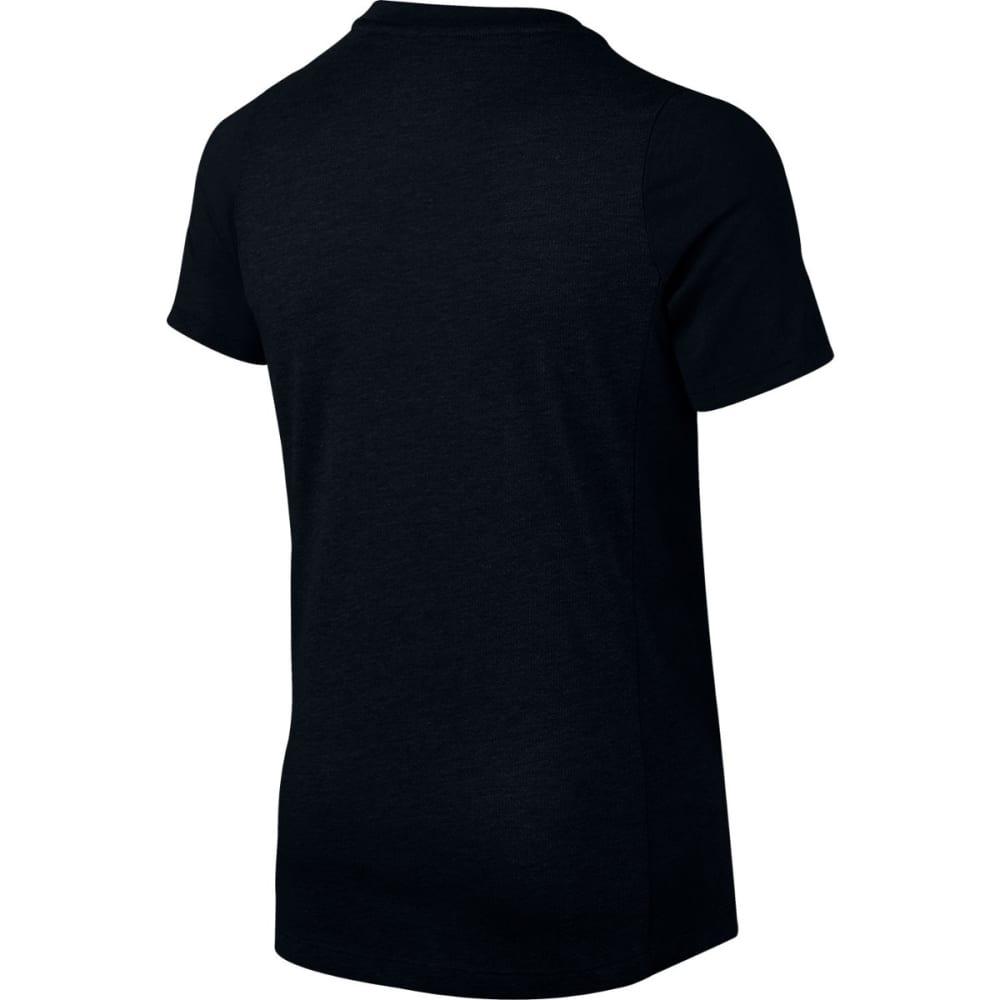 NIKE Boys' Elite Shooter Short-Sleeve Tee - BLACK 010
