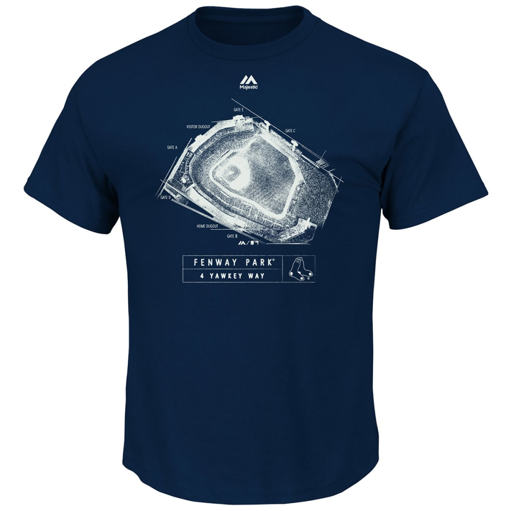BOSTON RED SOX Men's Game Day Tradition Short-Sleeve Tee M