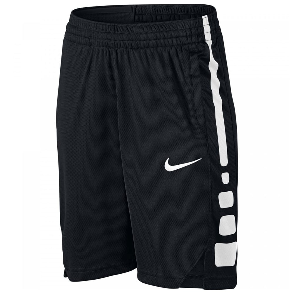 NIKE Boys' Dry Elite Basketball Shorts - BLACK 010