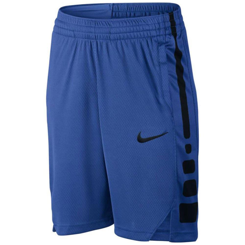 NIKE Boys' Dry Elite Basketball Shorts - GAME ROYAL 480