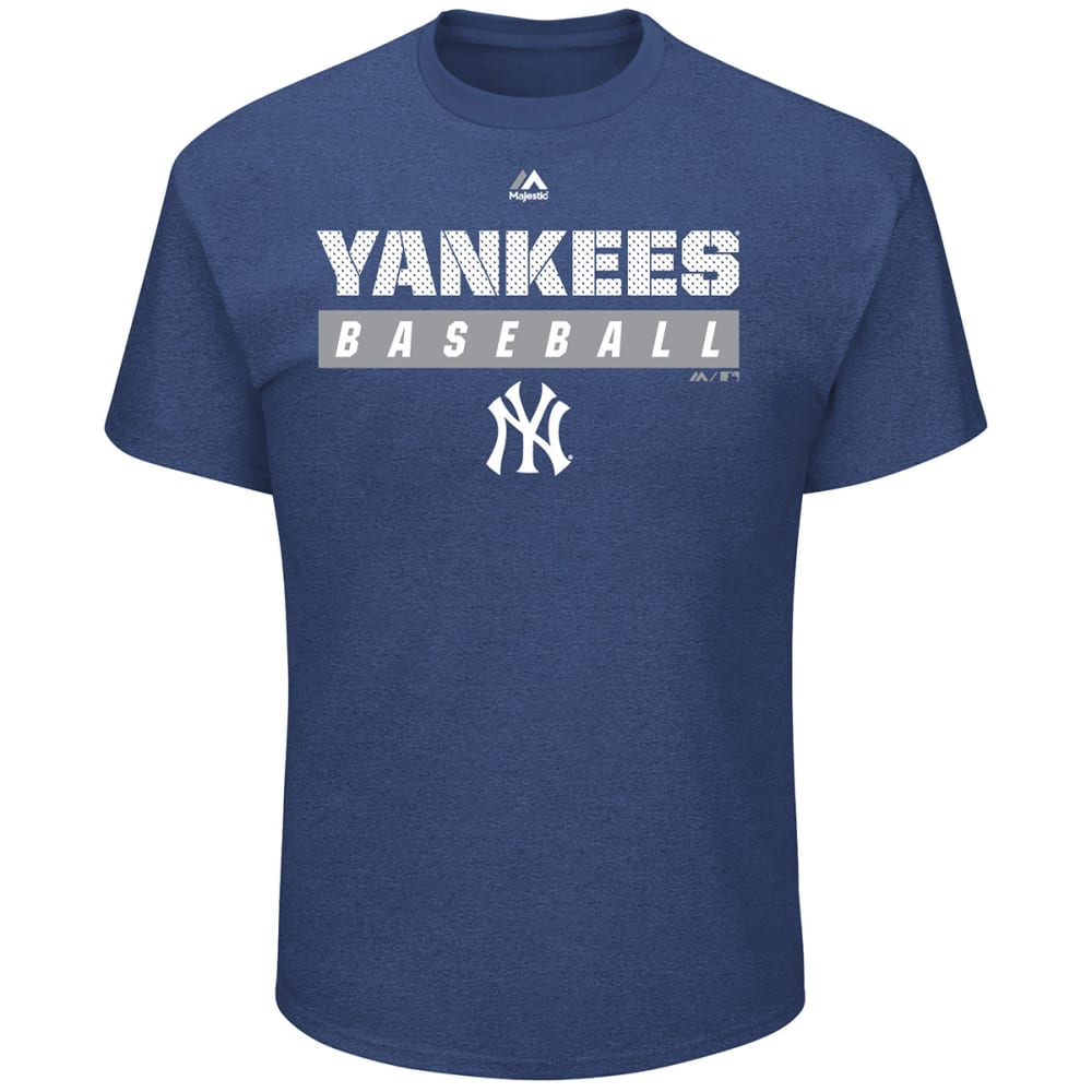 NEW YORK YANKEES Men's Proven Pastime Short-Sleeve Tee - NAVY