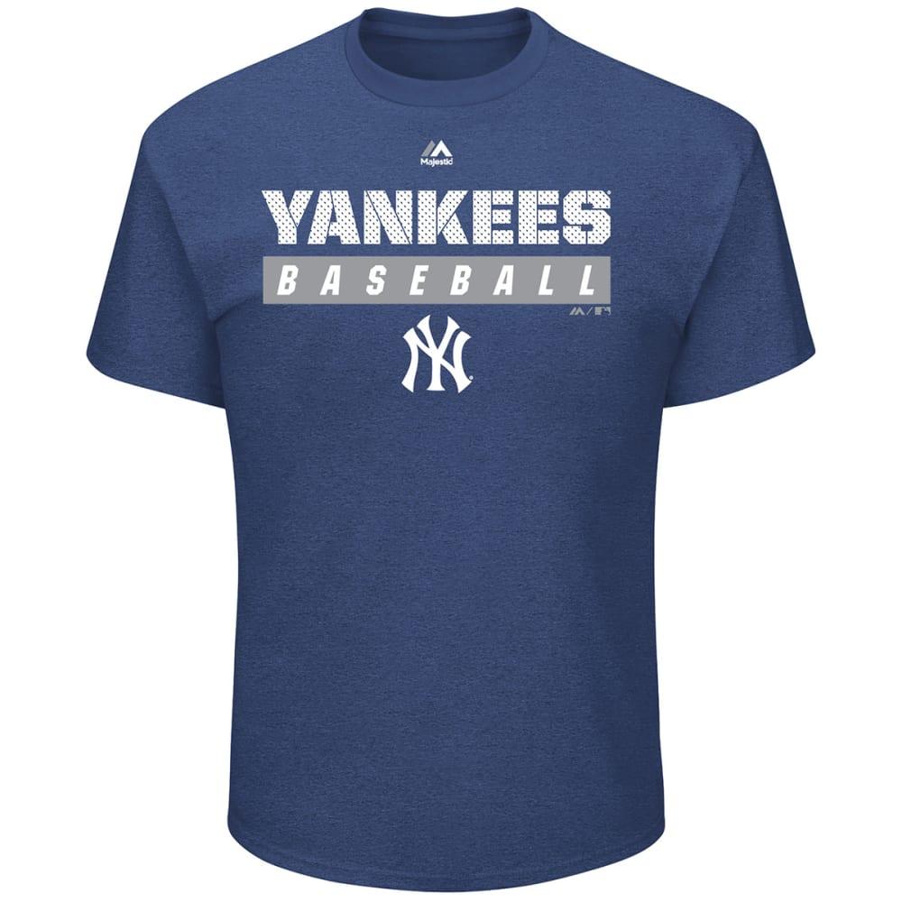 NEW YORK YANKEES Men's Proven Pastime Short-Sleeve Tee - NAVY