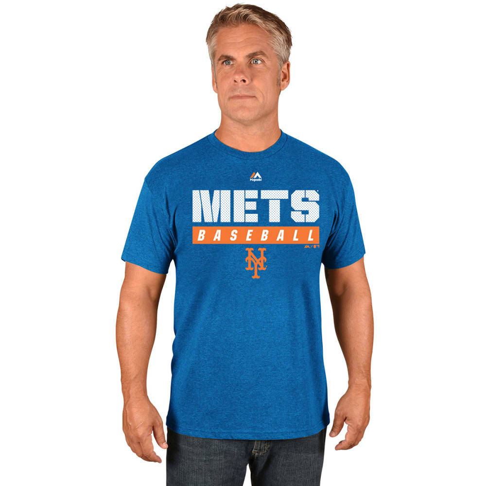 NEW YORK METS Men's Proven Pastime Short-Sleeve Tee - ROYAL BLUE