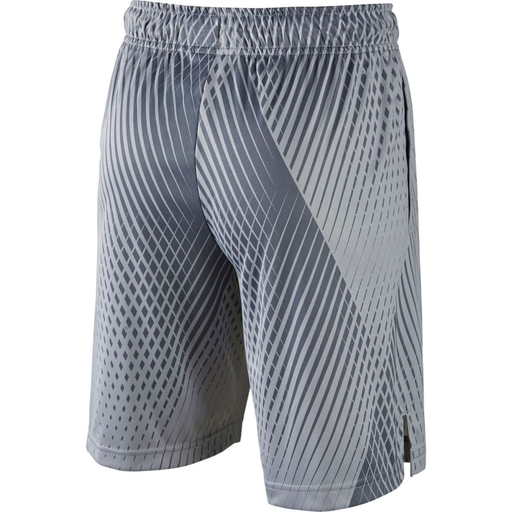 NIKE Big Boys' 8 in. Dry AOP3 Shorts - WOLF GREY 012